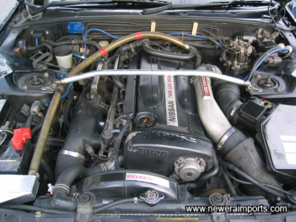 Engine bay in very tidy condition!