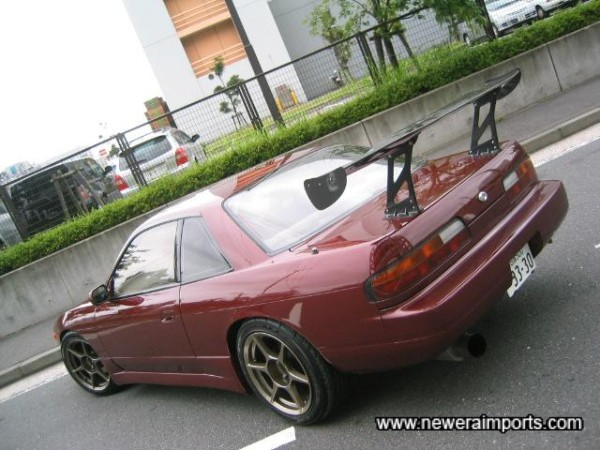 Carbon GT wing is very ''Tsukuba Time Attack'' styled!