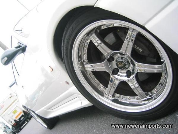 Wheels are brane new, essentially!
