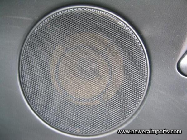 Uprated speakers.