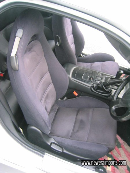 Note unused condition of driver's seat also.