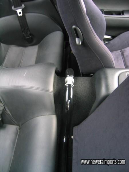 Do-Luck chromed rear brace fitted.