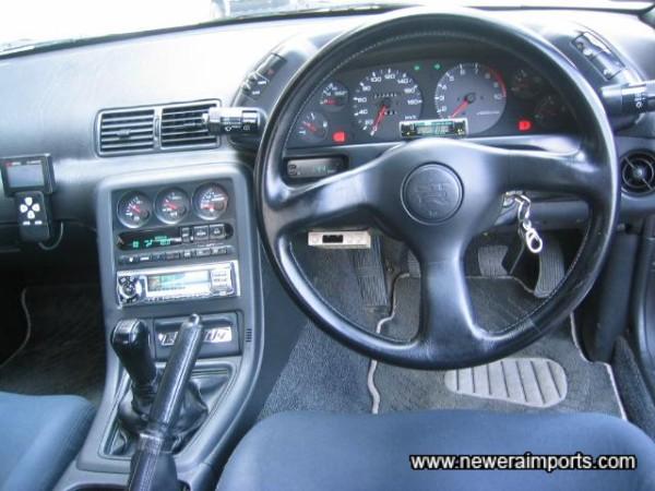 Original steering wheel - unworn.