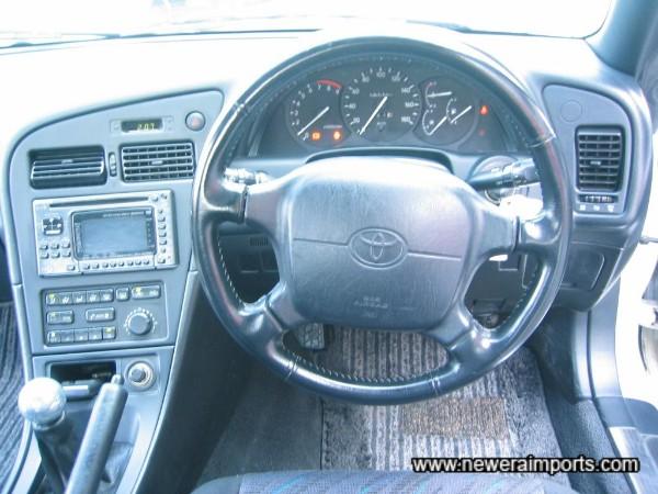 Original SRS airbag steering wheel.