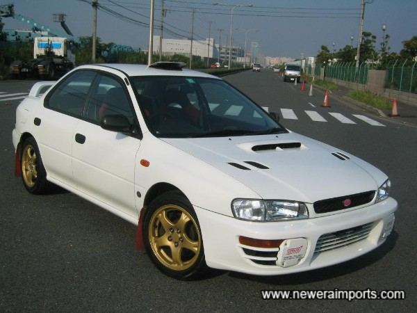 Undoubtedly the BEST example of an RA Sti Version 3 you`ll find.