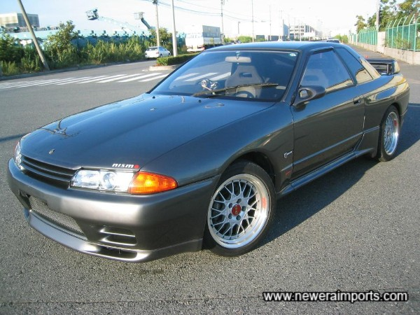 The lowest mileage R32 GT-R we have supplied this year!