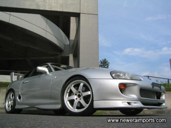 18'' Volk racing TE37 alloy wheels - perfection!!