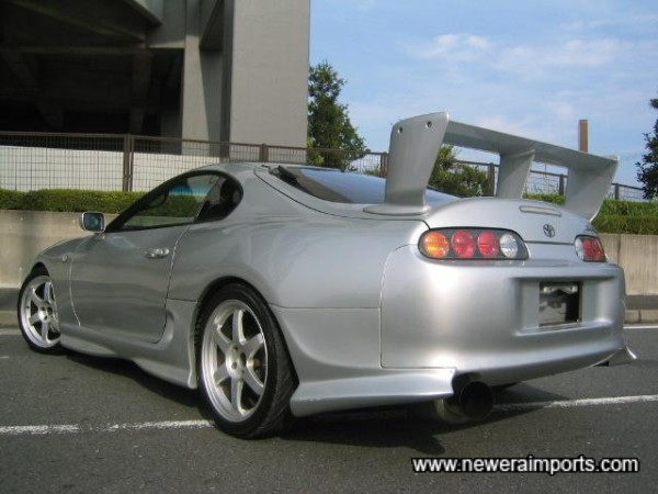 Rear Spoiler suits the car perfectly - just the right amount of agression..