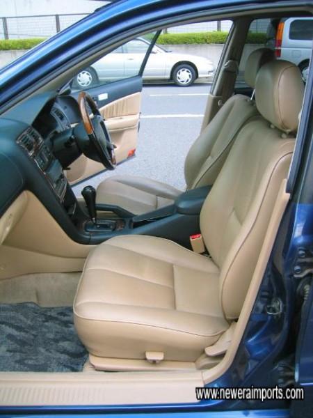 Tan leather interior is rare.
