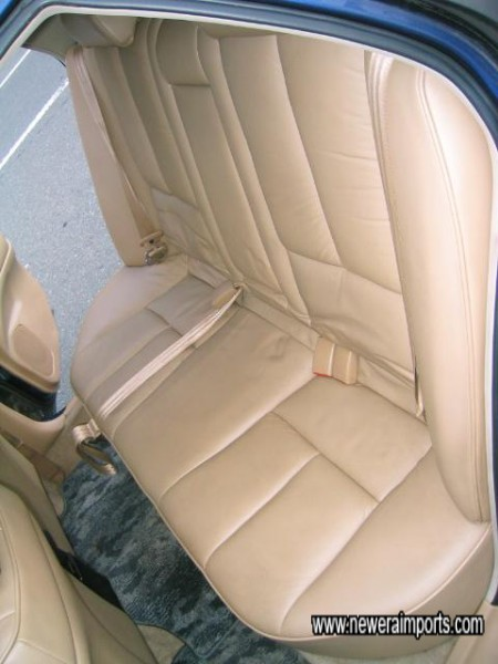 Rear seats also in mint condition.
