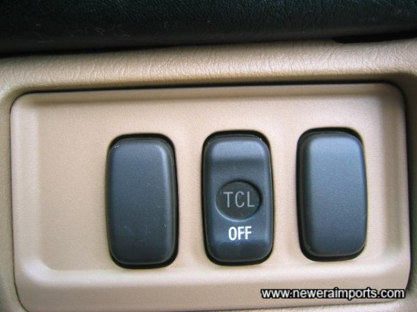 Traction Control fitted.