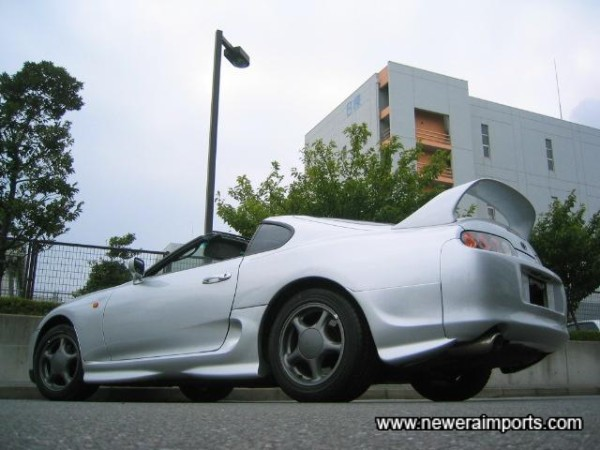 Only around 600 Supra GZ Twin turbo aerotops were ever made!