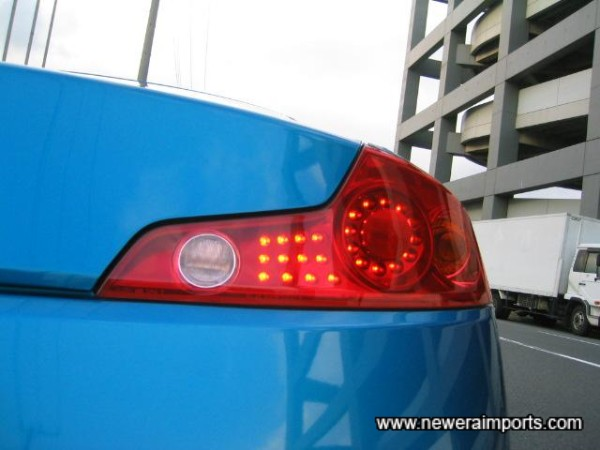 LED Tail lights as standard!