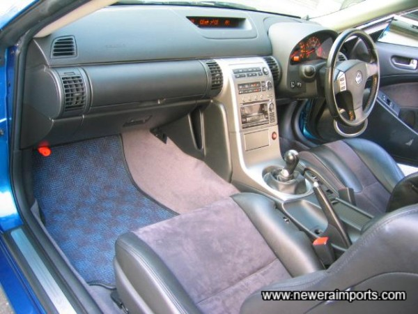 Note Aluminium interior look - not so long ago this sort of interior was only seen in concept cars.
