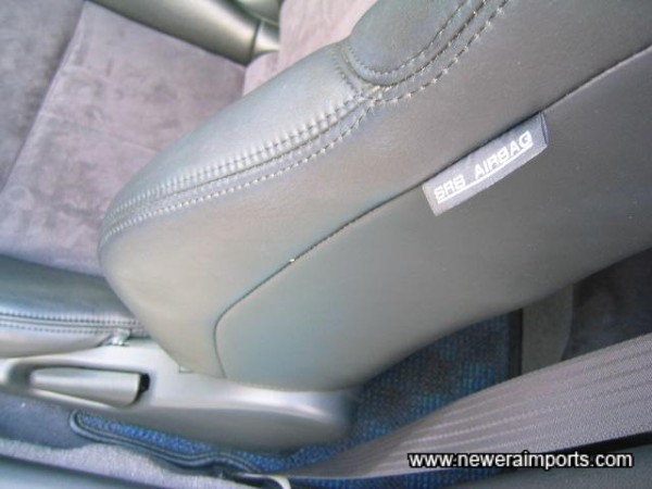 Side Airbag - Side curtain airbags are also fitted.