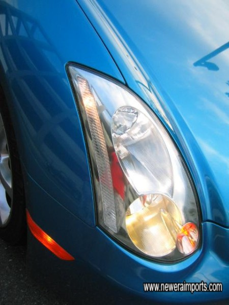 HID headlights as standard!