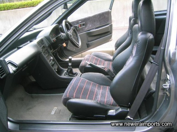 Original interior - in very good condition!