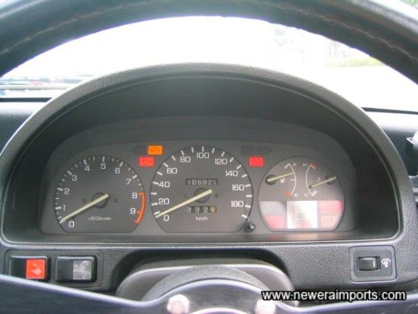 All warning lights present an dcorrect when ignition's on.