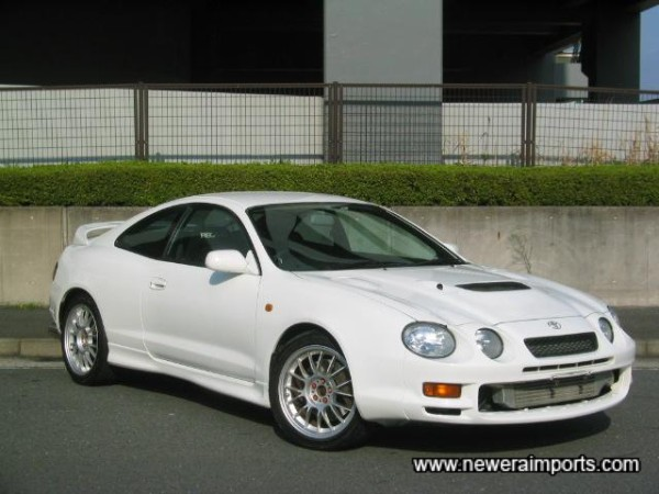 The best Celica GT-4 we have come across in the last 6 months!