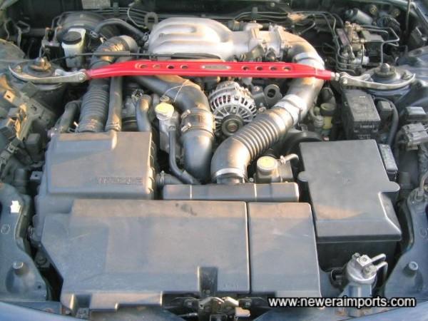 Engine bay - standard.