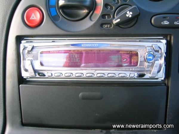Kenwood f-CD7 47W x 4 CD/ DSP / Radio unit - High quality head unit.
