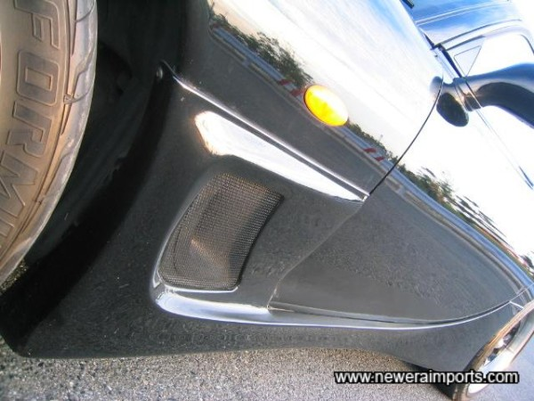 Side skirts - perfect fit and condition too.