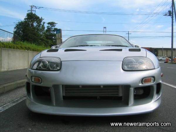 Top Secret front bumper.