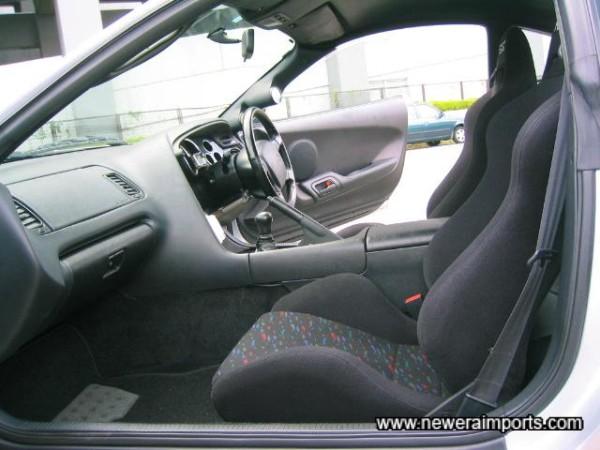Original option Recaro Seats Inside.