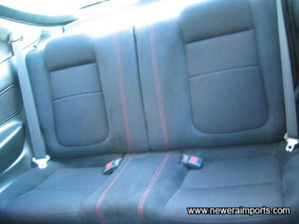 Matching rear seats - also unmarked.