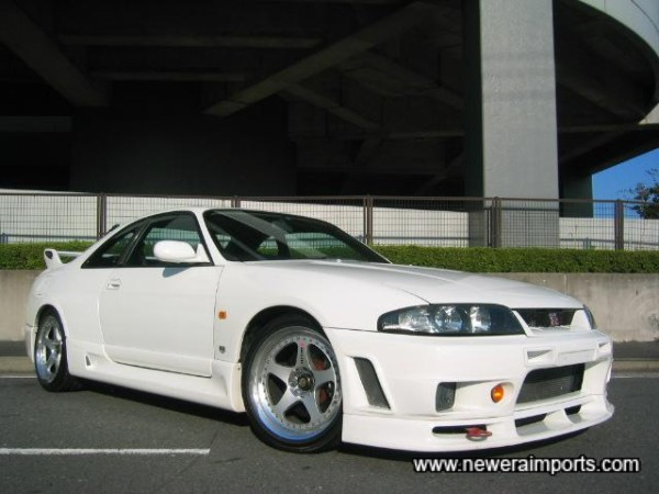The first and only R1 Nismo body kitted GT-R V-Spec we've ever supplied!