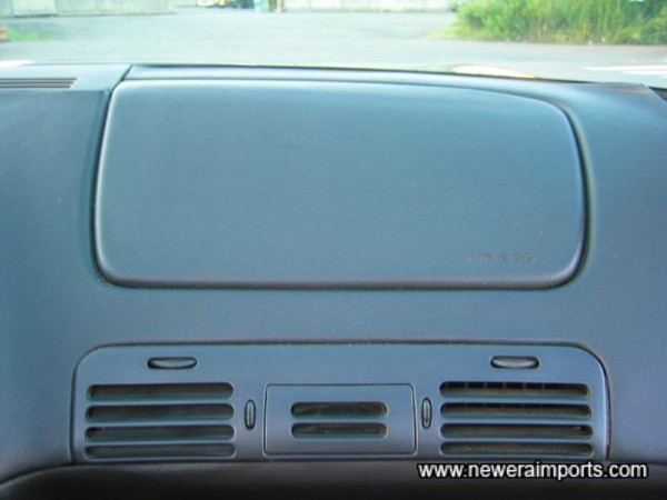 Passenger side SRS airbag
