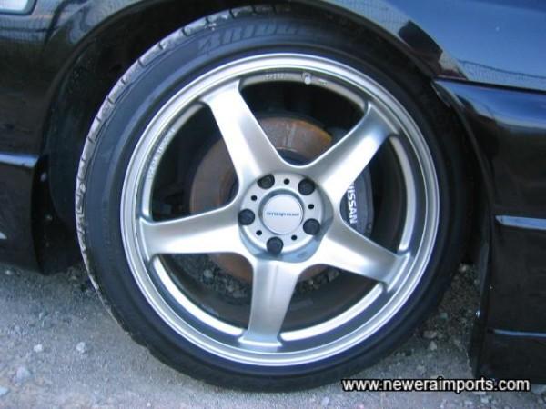 Prodrive 18'' alloys are in virtually brand new condition.
