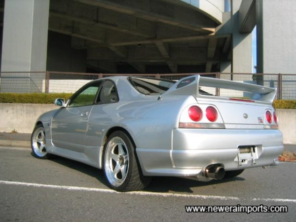 Nismo Skirts and Rear Valence Extensions.