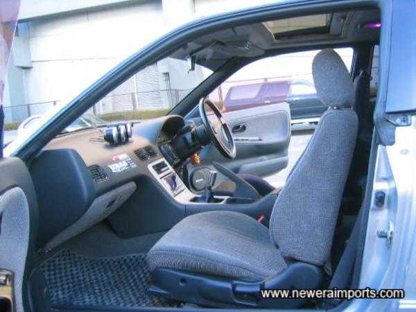 Passenger seat & rear seats are original.