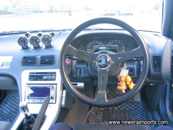 Nardi Drift steering wheel, Defi gauges and much more!