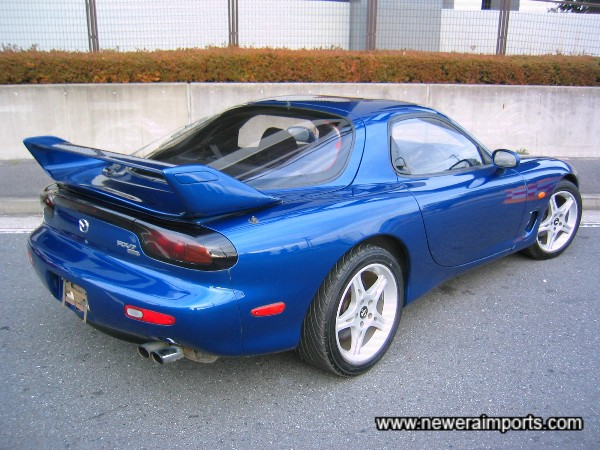 Our favourite colour of all for RX-7's - Only made from 1999 on.