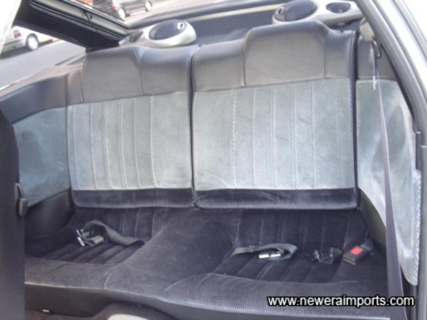 Rear Seats also unmarked.