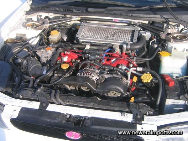 STi Engine & Intercooler