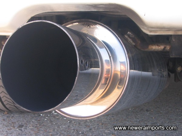 Full stainless steel exhaust