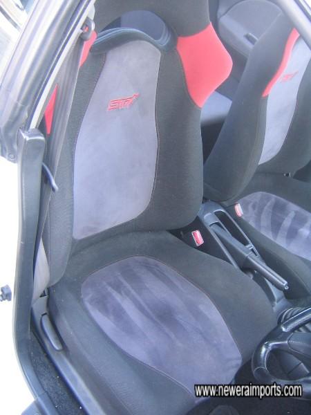 Unworn drivers seat