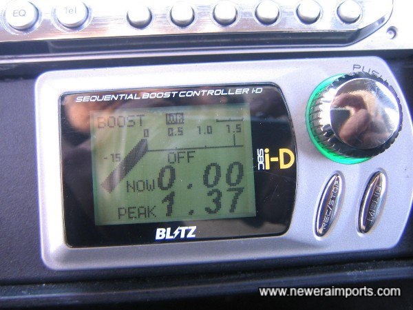 Blitz SBC iD boost controller