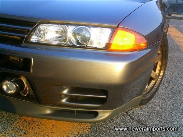 Nismo vents and original option driving lights.