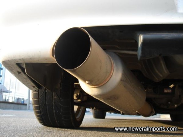 Blitz Nur Spec Exhaust (Stainless Steel).