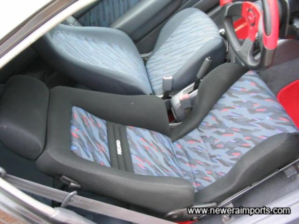 Recaro drivers seat