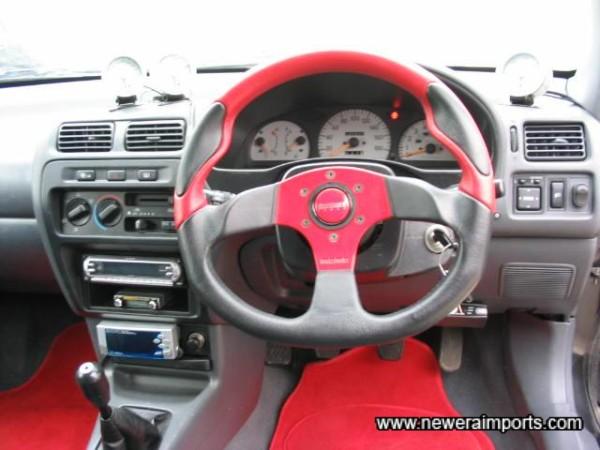 Momo Apache steering wheel