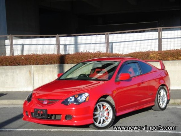 Rare to find a DC5 in red!