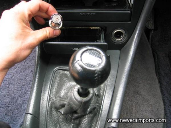 This has been a non smoker's car.