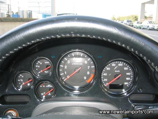 Instrument panel - Mazdaspeed Carbon Look Trim.