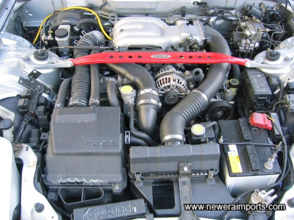 Engine is of standard tune, ideal for low insurance costs.