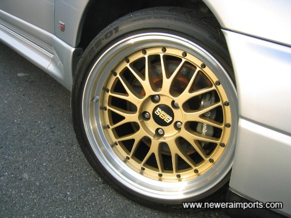 Stunning BBS LM 18'' 2 piece forged alloy wheels.